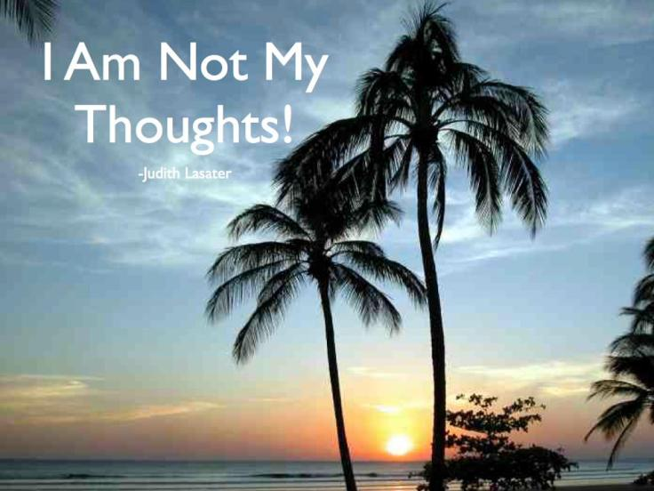 I Am Not My Thoughts