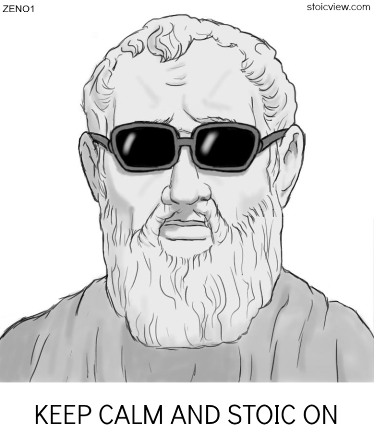 """""""Keep calm and stoic on"""""""