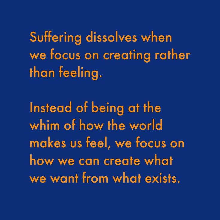 suffering dissolves